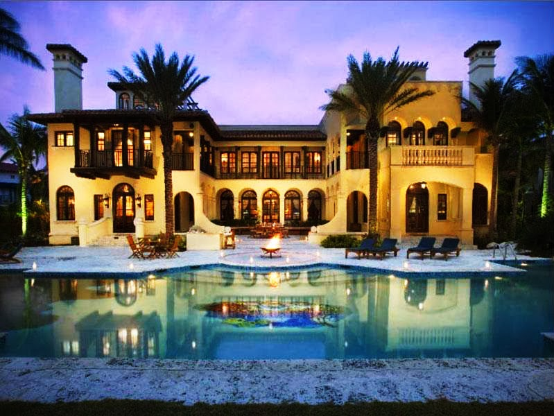 Miami west palm beach south florida affluent blacks for Million dollar luxury homes