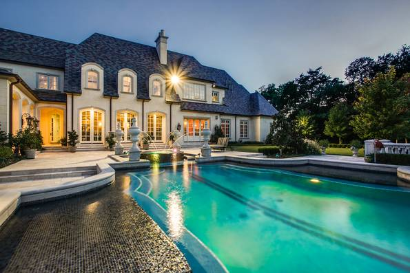 Photos: Inside a M Preston Hollow home reminiscent of a French Chateau | Dallas Morning News