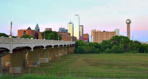 Photo of the Dallas skyline by Ken Slade.