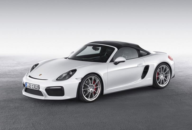 2016 Porsche Boxster Spyder: 375-Horsepower, Top-Down Fun