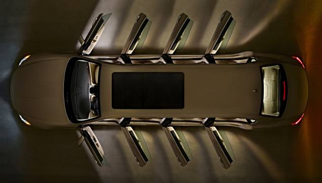 Maserati Unveils the Maserati Octoporte Eight-Door Limousine [EXCLUSIVE] | Automobiles
