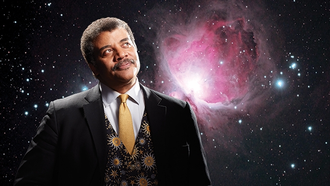 Neil deGrasse Tyson on stage in Dallas | North Dallas Gazette