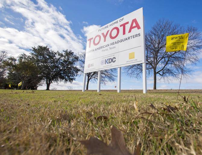 Toyota Group spinoff to bring new global headquarters, 150 jobs to Dallas - Dallas Business Journal