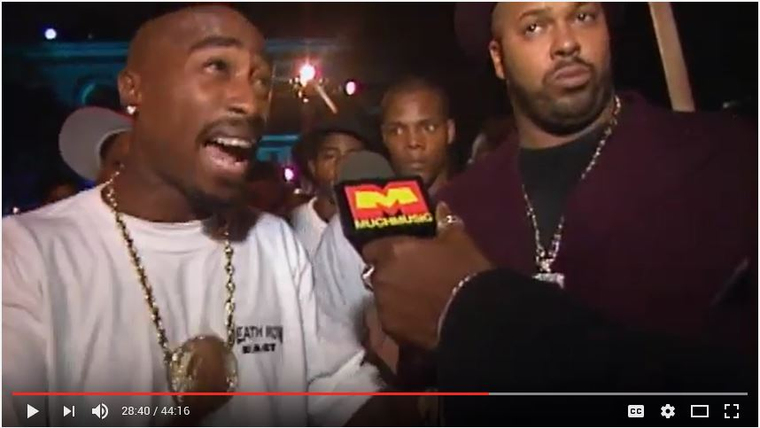 The Interesting Dallas Connection to Tupac's Death Row Records
