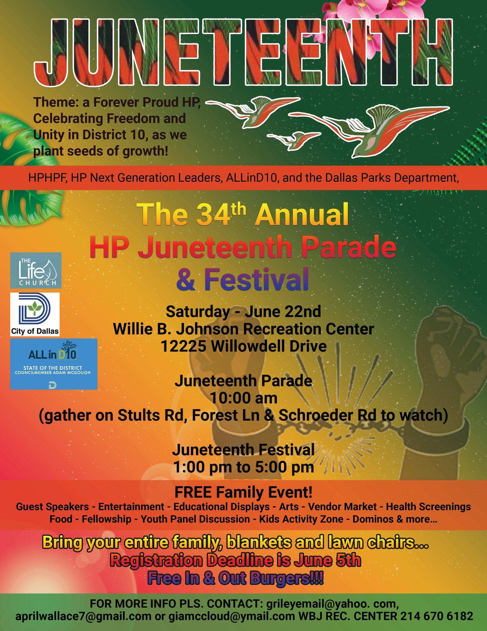 Juneteenth All Across the Land of Dallas Ft. Worth