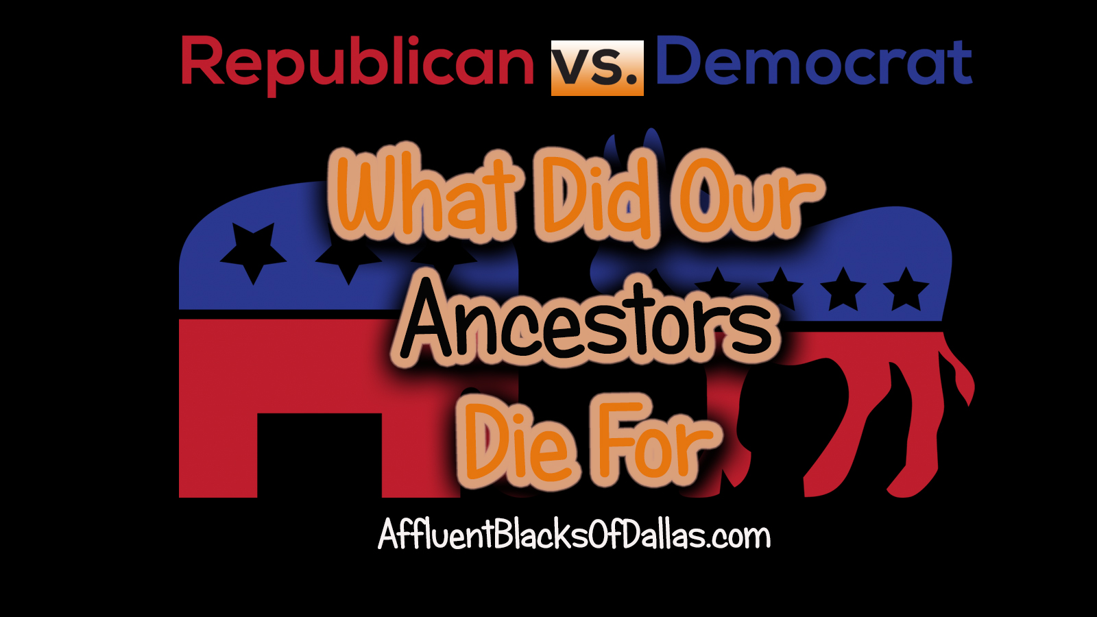 Did Our Ancestors Die for the Right to Vote?