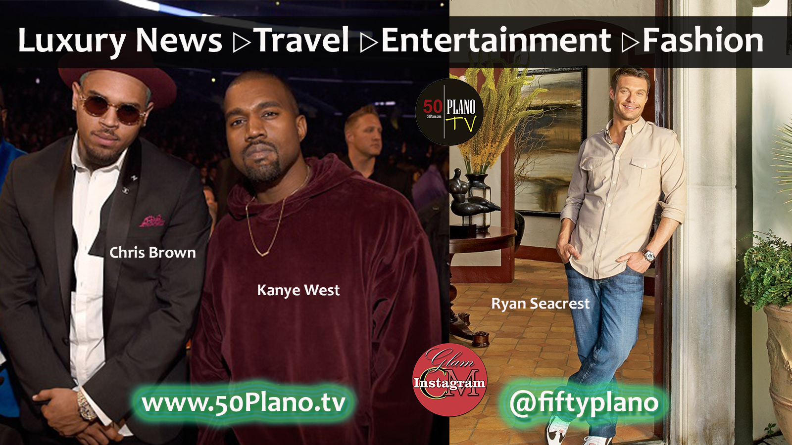 What kind of pimped out monster truck did Kanye give singer Chris Brown? Did you see that impressive L.A. palace Ryan Seacrest is selling?