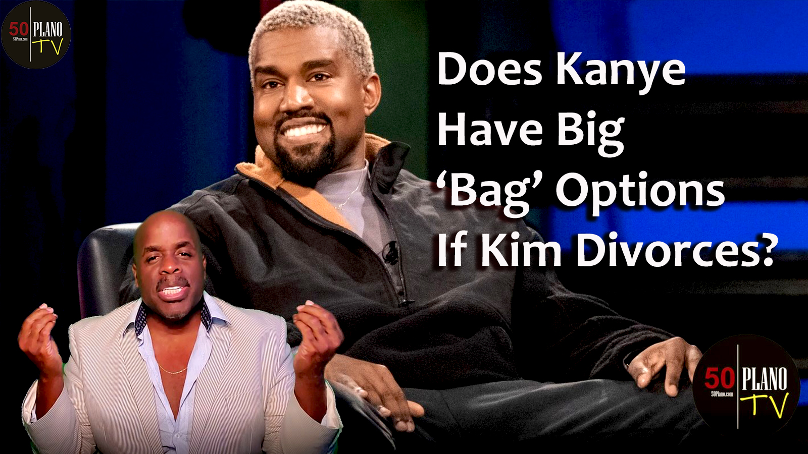 Does Kanye Have Big 'Bag' Options If Kim Divorces?