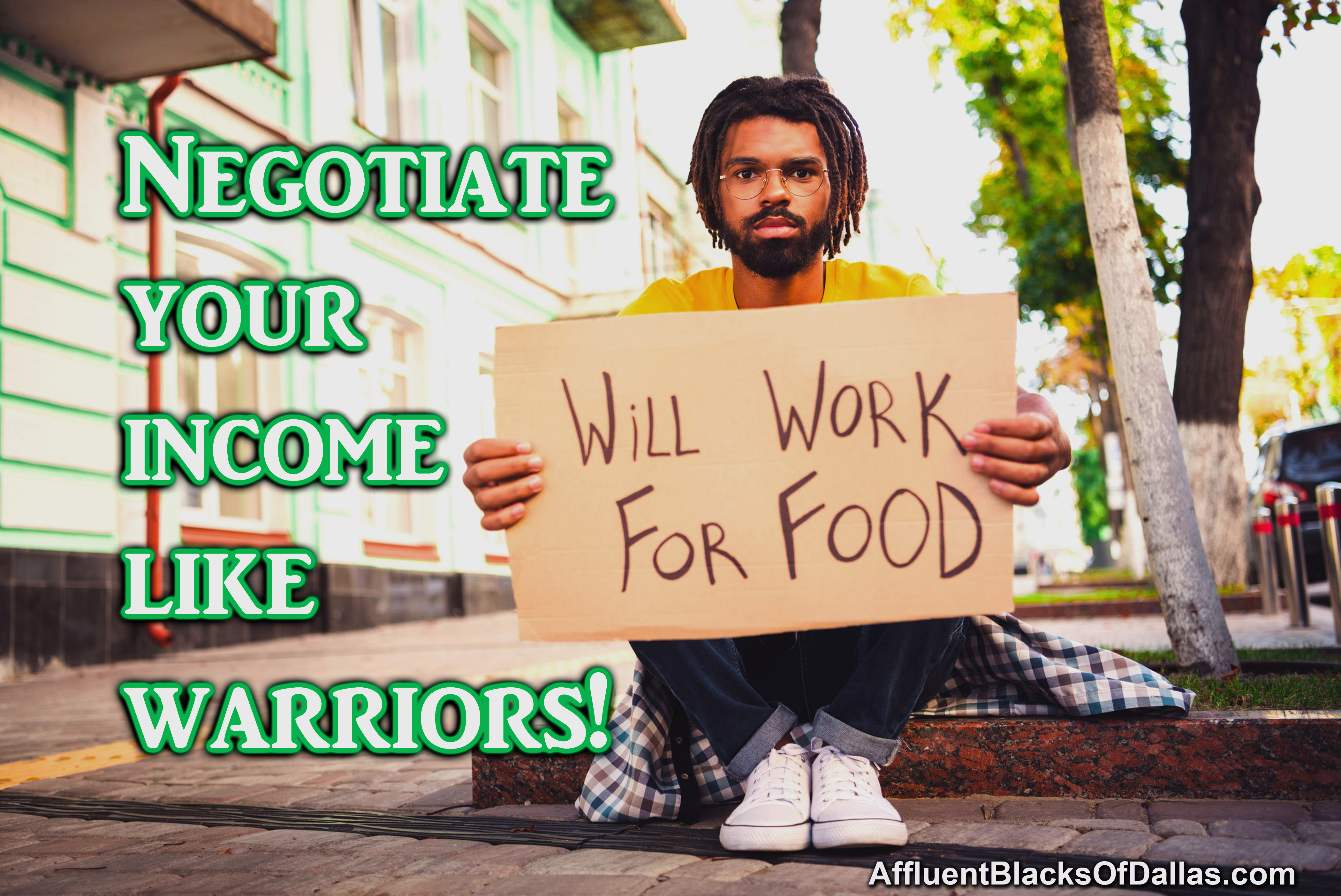 Why end up in STRUGGLE careers and LOW INCOME businesses?