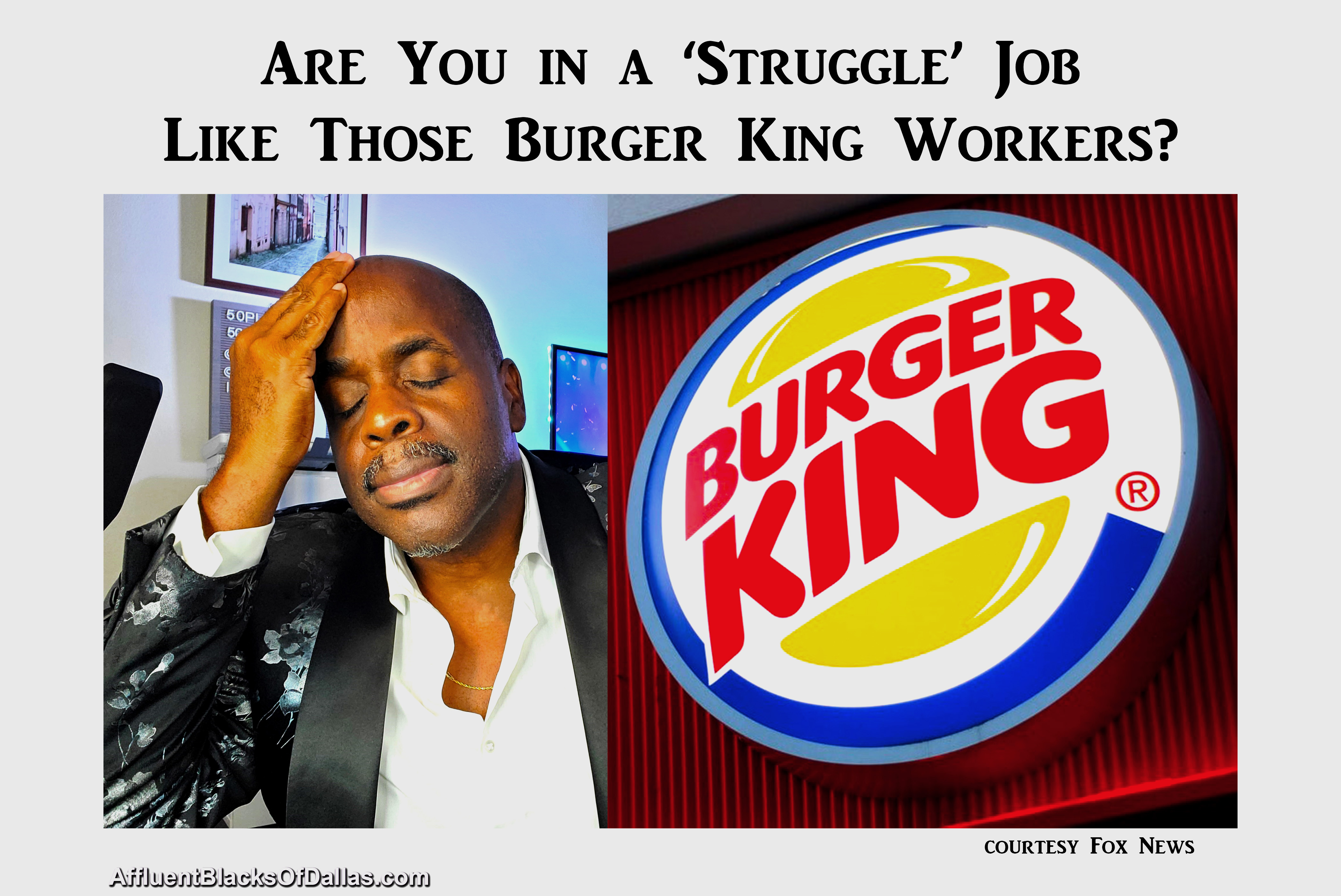 Entire Burger King Staff Quit Their Slave 'Struggle' Jobs. Are YOU Next?